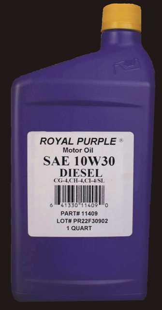 Royal Purple 10W30 D