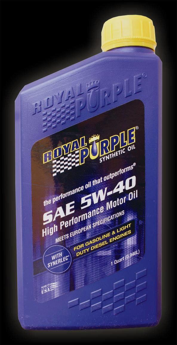 Royal Purple 5w40