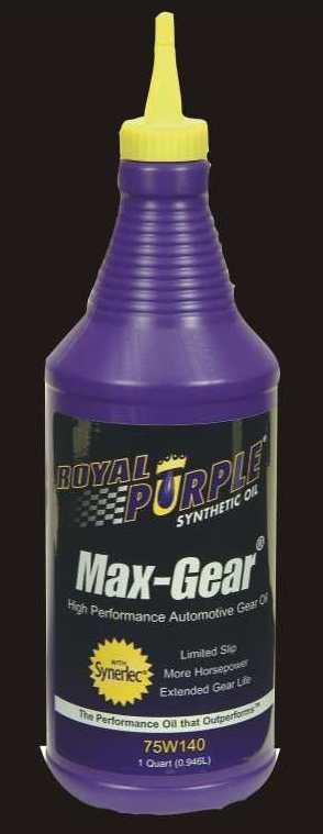 Royal Purple 75W140