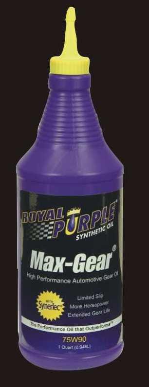 Royal Purple 75W90
